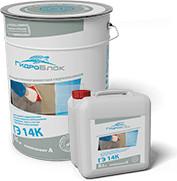 ГидроБлок ГЭ 14К – эластичная полимерцементная гидроизоляция.
